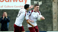 Padraic Cunningham fires hat-trick as Galway United progress