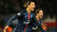 Chelsea won't stop PSG's glory hunt, says Zlatan Ibrahimovic