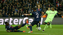 Fernandinho digs out draw for Man City against Paris Saint-Germain
