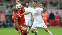 Arturo Vidal gives Bayern edge on Benfica