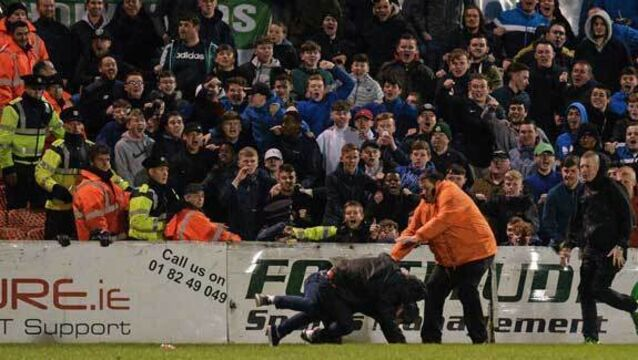 League of Ireland: Shamrock Rovers and Bohemians accept FAI fines following crowd violence