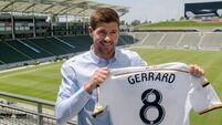 Steven Gerrard 'open to offers' when LA Galaxy deal ends in December