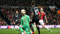 Phillipe Coutinho's amazing strike seals Manchester United's early Euro exit