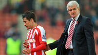 'Happy' Bojan Krkic will stay at Stoke, insists Mark Hughes