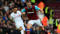 West Ham United v Liverpool - Barclays Premier League - Upton Park
