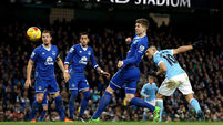 Manchester City v Everton - Capital One Cup - Semi Final - Second Leg - Etihad Stadium