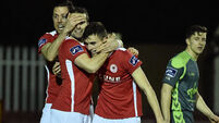 St Patrick's Athletic see off Bohemians in fiery Dublin derby