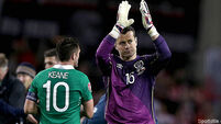 'Happy' Shay Given on the road to recovery