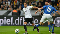 Impressive Germany finally overcome bogey team Italy