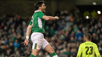 Mixed fortunes for Ireland as forwards deliver
