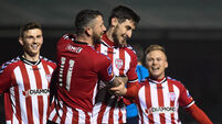 Rory Patterson doubles up for Derry City