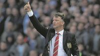 Alex Ferguson backing pleases Louis van Gaal