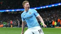 Kevin de Bruyne sets sights on final with Man City