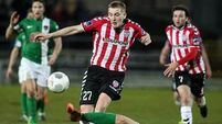 Derry upset 10-man Cork City in emotional night at the Brandywell