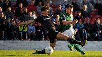 Cork City's thunderous start blows Shamrock Rovers away