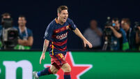Barcelona get Messi injury boost