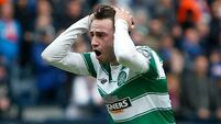 Patrick Roberts 'distraught' after horror miss in Scottish Cup semis