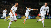 Swansea City v Watford - Barclays Premier League - Liberty Stadium