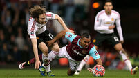 Man United burst West Ham's bubble
