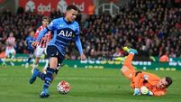 Sharp Spurs stay on tails of Leicester