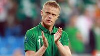 Damien Duff gradually letting go of the game