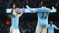 Manchester City v Crystal Palace - Barclays Premier League - Etihad Stadium