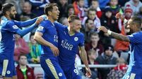 Referee leaves mark as Leicester City scramble point against West Ham