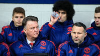 Louis van Gaal plays down cost of Champions League failure
