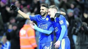 Leicester trio Vardy, Mahrez, and Kante on PFA player shortlist
