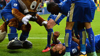 Ulloa keeps Leicester City's title-chasing show on the road with late winner against Norwich