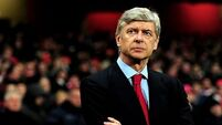 Arsene Wenger looks to keep Arsenal's title bid on track against Stoke