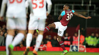 Angelo Ogbonna delivers Hammer blow to Liverpool
