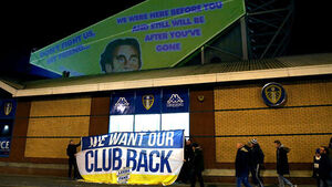 Leeds United fan protest takes a stand at Elland Road