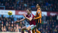 Andy Carroll suffers another injury setback
