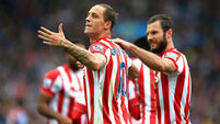 Mark Hughes says Marko Arnautovic's focus firmly on football