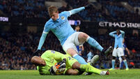 Manchester City v Everton - Barclays Premier League - Etihad Stadium