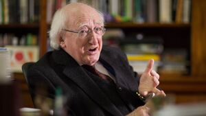Michael D Higgins Interview: Statesman of the game