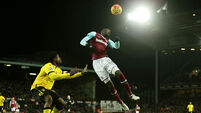 West Ham United v Aston Villa - Barclays Premier League - Upton Park