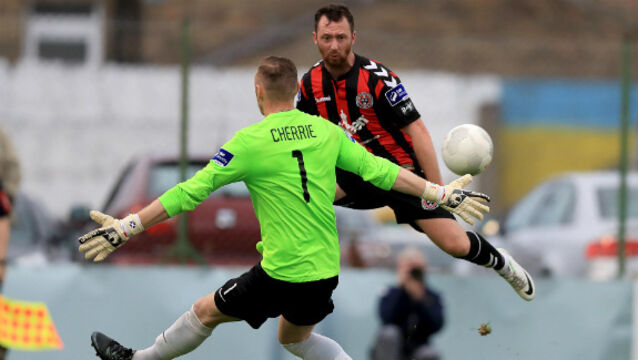 Frustration for Bohemians as Peter Cherrie saves Bray Wanderers