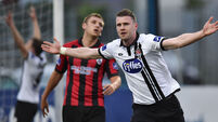 Ciaran Kilduff delivers at the death to rescue points for Dundalk against Longford