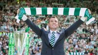 Celtic not a step down, insists Brendan Rodgers