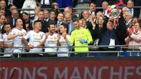 Man Utd shares rise as LVG axed as manager