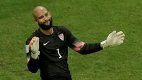 Tim Howard  points finger at Everton players for disappointing season