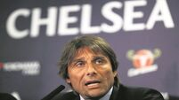 Antonio Conte stages first passion play at Chelsea unveiling