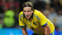 Jonas Olsson a big casualty as Sweden name Euro 2016 squad