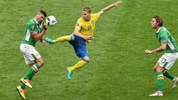 Sweden lament failure to capitalise on late pressure