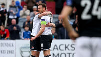 Andy Boyle swoops for rare goal as Dundalk scrape past Bray