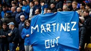 Martinez pays price for Everton frustrations