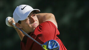Relaxed Rory McIlroy in the driving seat at Baltusrol