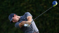 Rory McIlroy struggles to shake off rust at Quail Hollow
